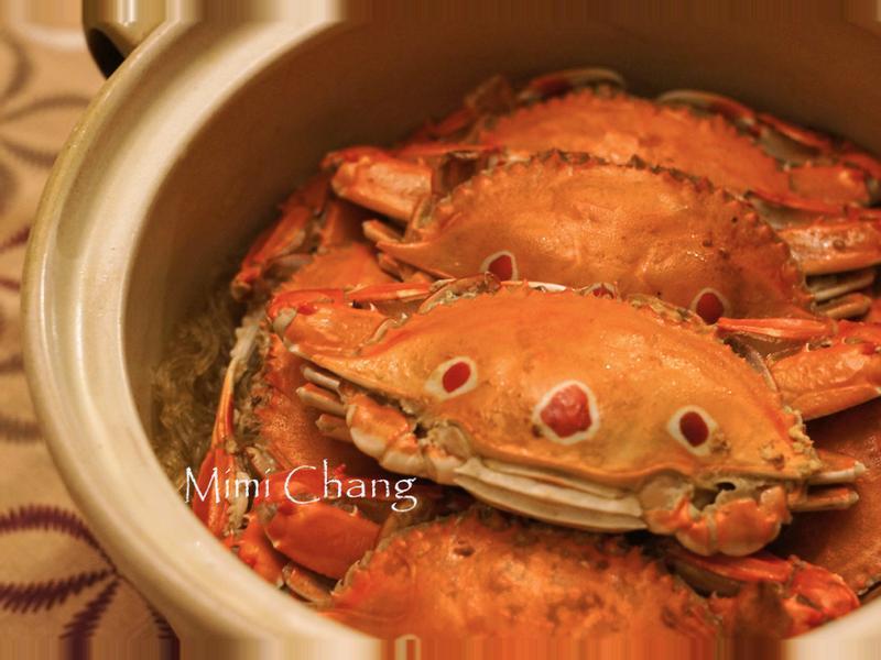 Mimi♥螃蟹粉絲煲(三點蟳)
