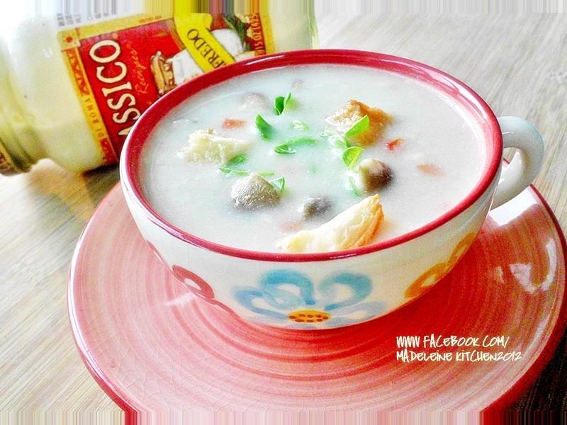 【Classico®香濃白醬】馬鈴薯菇菇濃湯