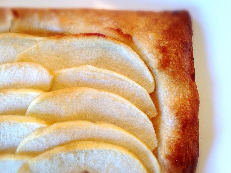 香濃酥脆蘋果酥皮塔