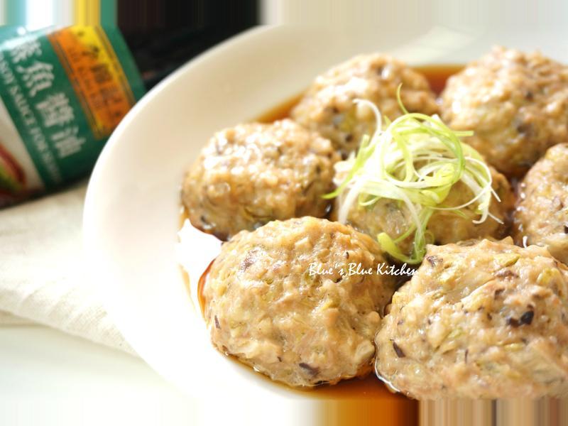 香菇菜肉丸子[百分百堅持料理]