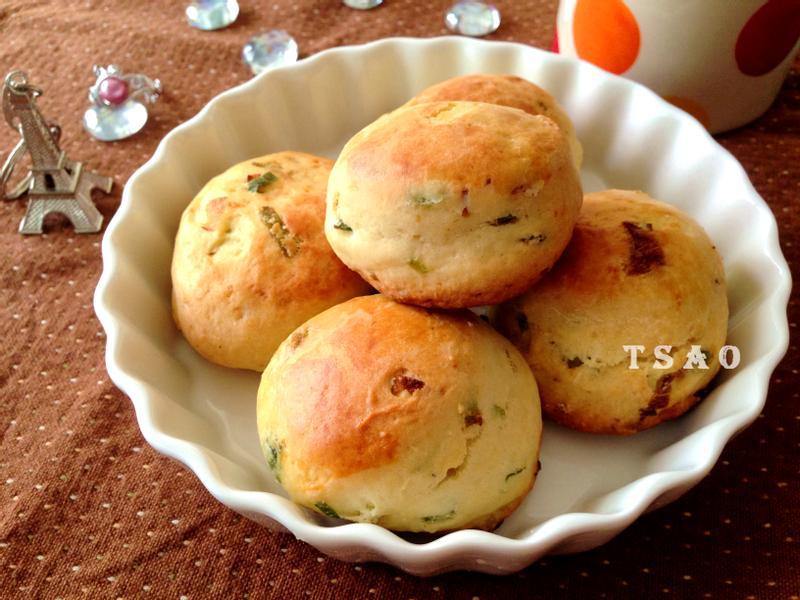Scone司康~英式鬆餅(鹹味香蔥)