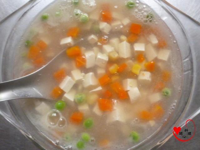 蔬菜豆腐素羹