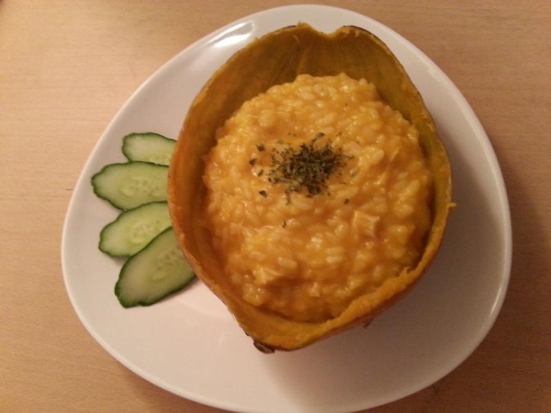 超簡單的南瓜燉飯