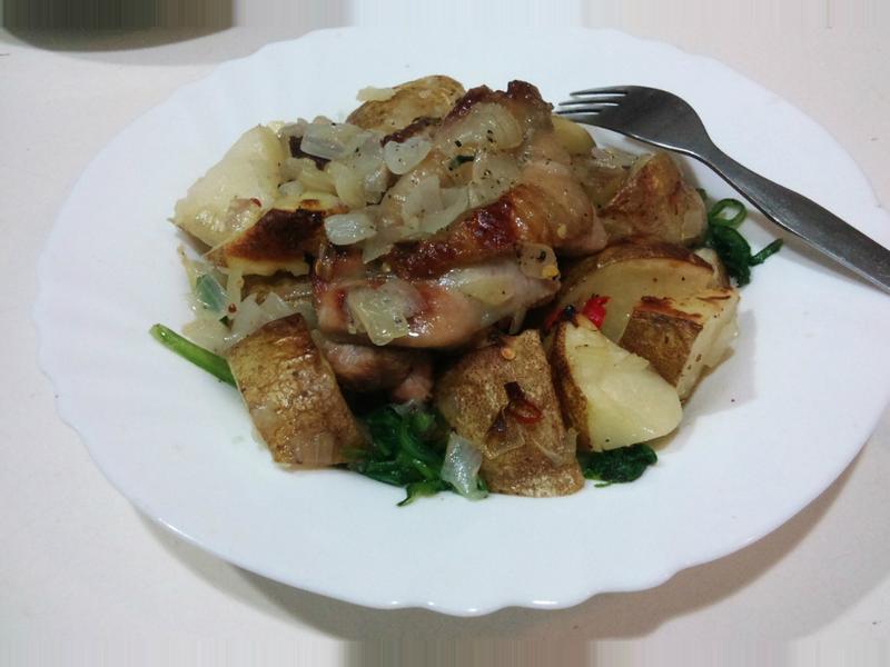 馬鈴薯烤雞 *有飽足感的健康減肥餐*