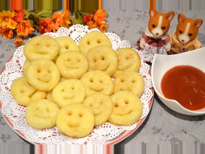 馬鈴薯笑臉餅