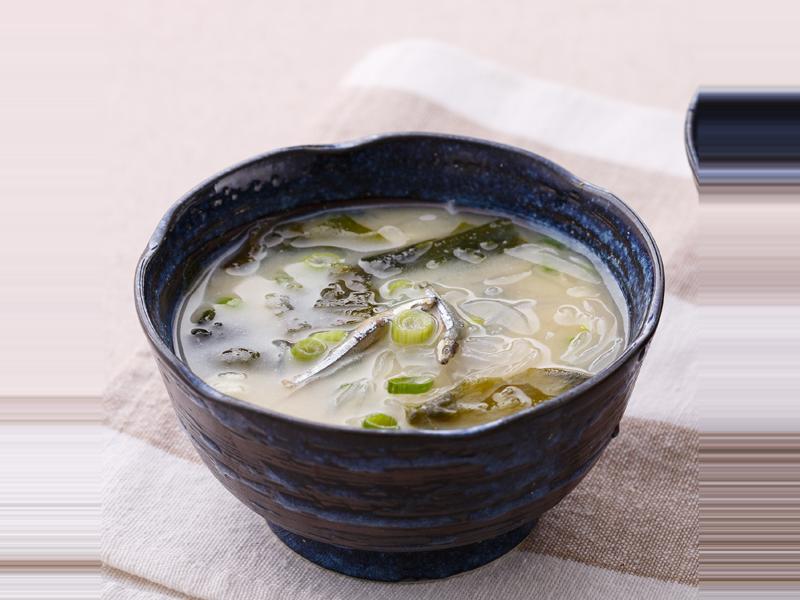 低熱量輕食》海帶芽味噌冬粉湯