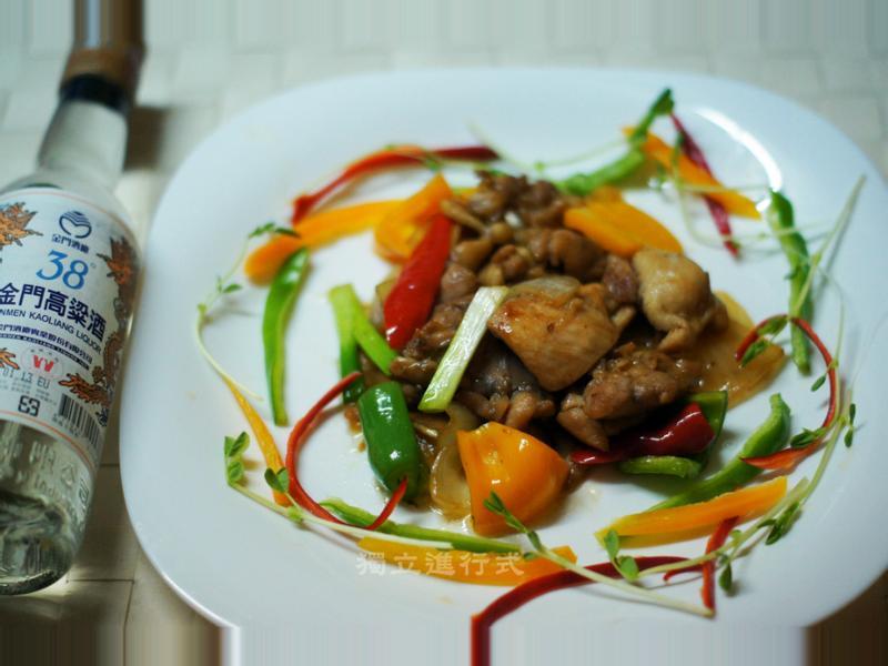 金門高粱飄香料理~38度甘冽高粱雞