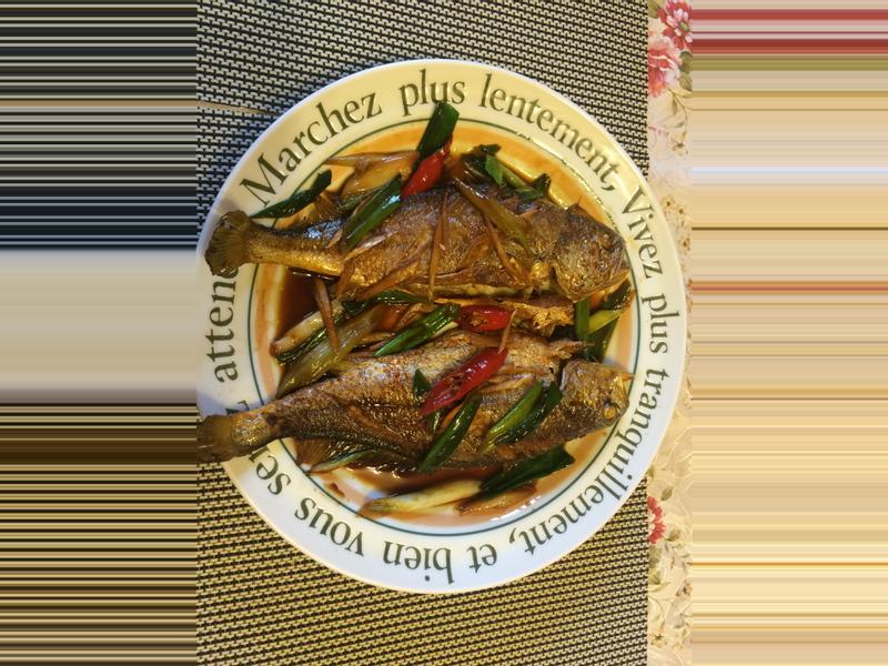 家常菜~紅燒黃魚