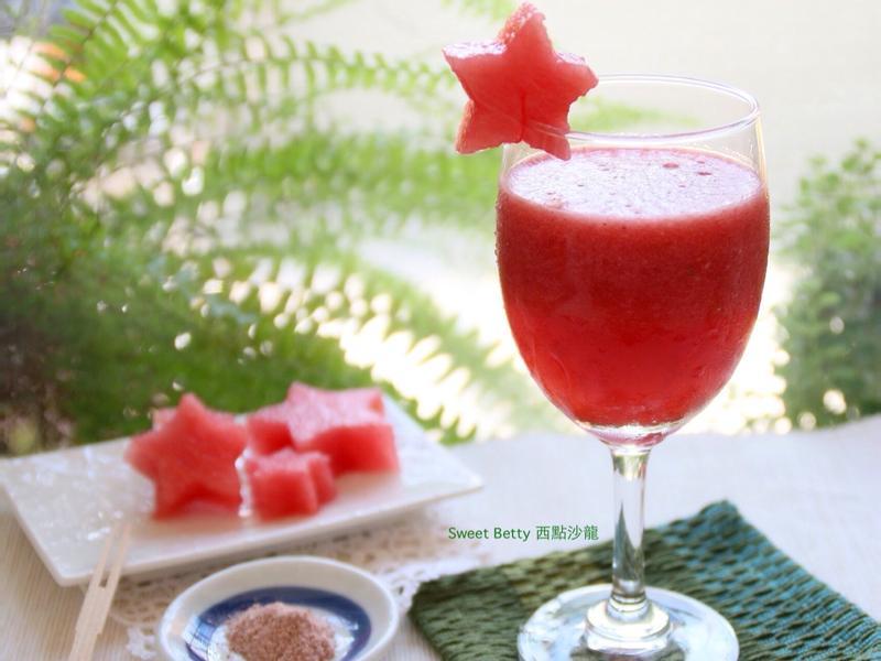 梅粉西瓜汁