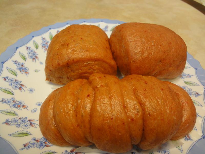 甜菜根養身饅頭