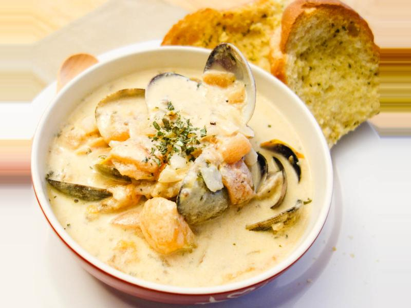 懶人版西式海鮮奶油濃湯