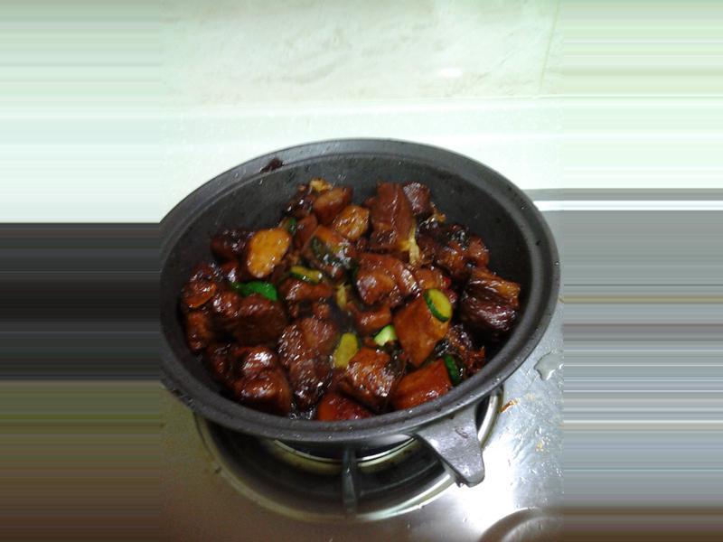 醬燒梅花肉