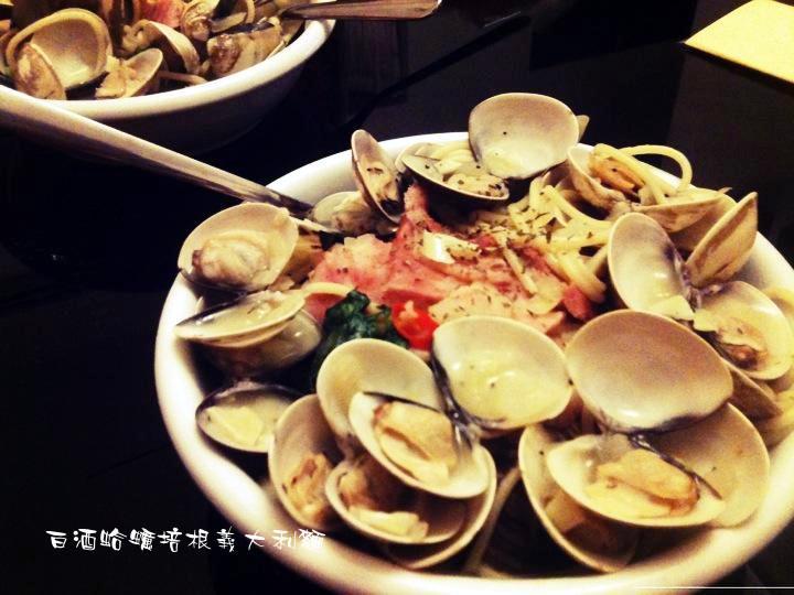 鮮美♫白酒蛤蠣培根義大利麵❤