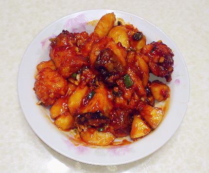 青蘋糖醋魚片