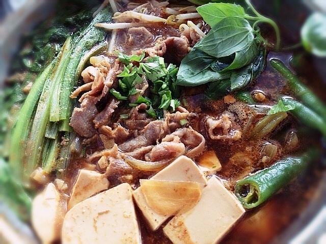 《辣味細絲羊肉燒》---韓式料理