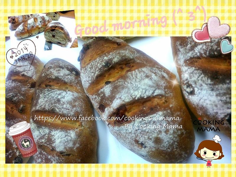 蔓越莓鄉村麵包