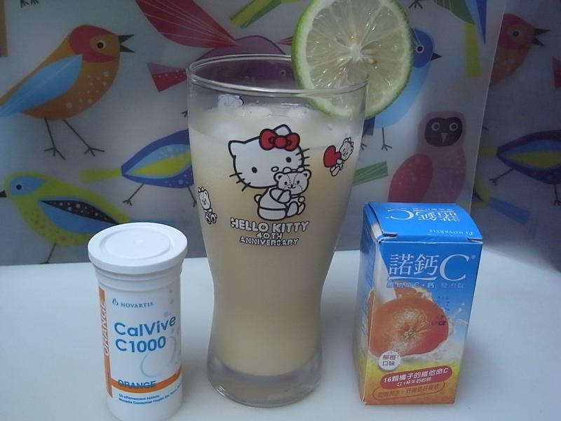 『諾鈣C發泡錠』檸檬多多C ~