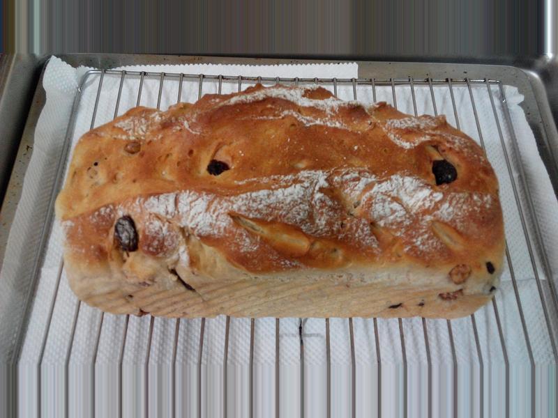 歐式麵包~蔓越莓核桃(二)
