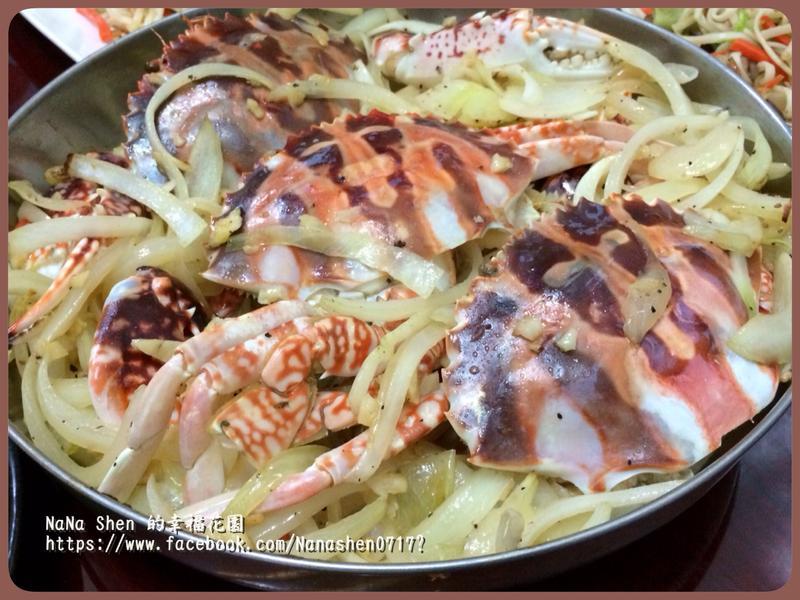 奶油香烤螃蟹
