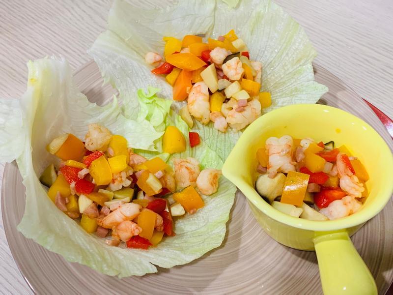 生菜蝦鬆(家常版)