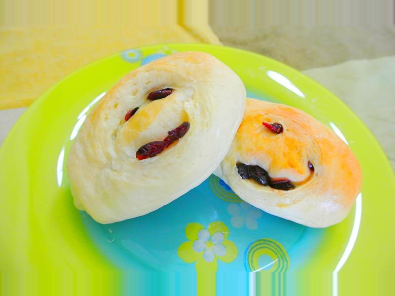 原味蔓越莓麵包捲