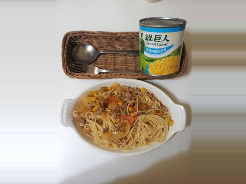 義大利肉醬麵(輕鬆版)