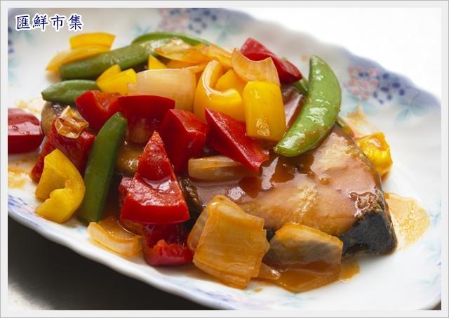 茄汁彩椒土魠魚