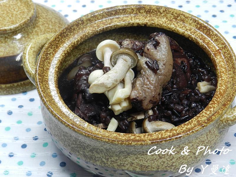 黑米蒟蒻雞肉飯