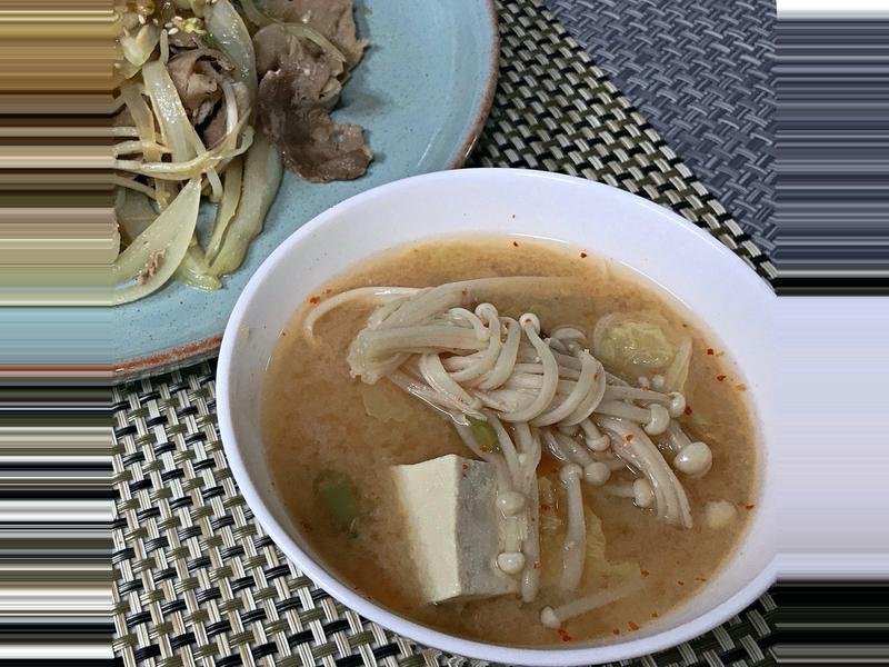 白菜大醬湯