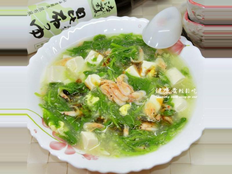 莧菜豆腐羹
