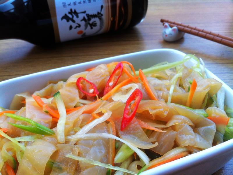 涼拌海蜇皮-淬釀年菜料理