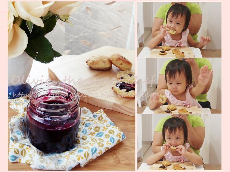 Olivia♥藍莓果醬Blueberry Jam