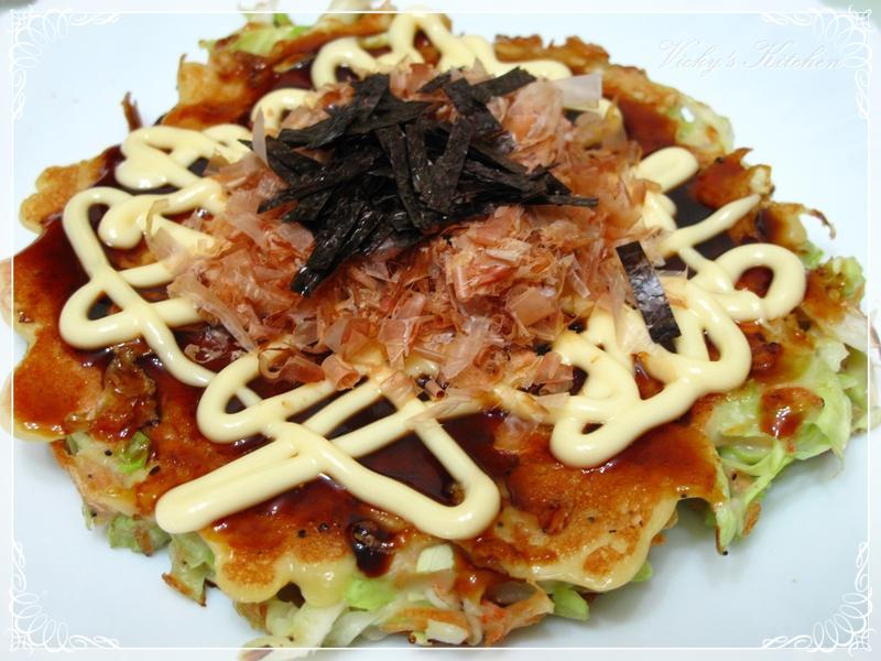 日式燒餅 (お好み焼き)