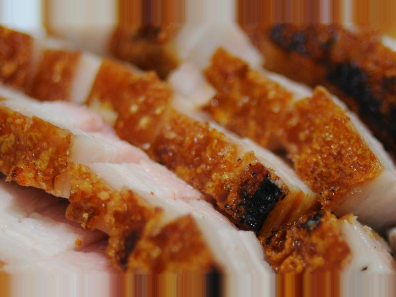 自製脆皮燒肉