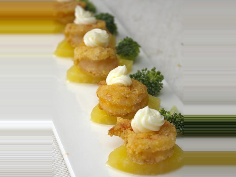 【匯鮮廚房】鳳梨蝦球