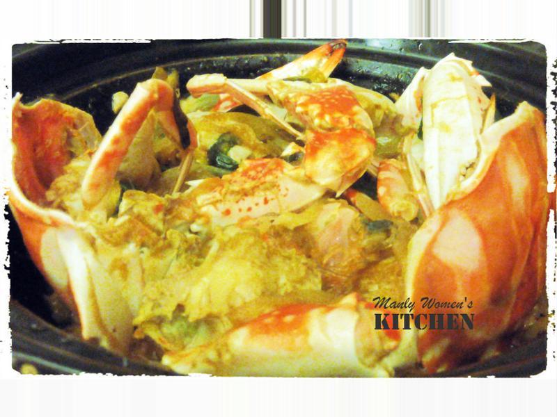 食慾之秋之砂鍋大的螃蟹