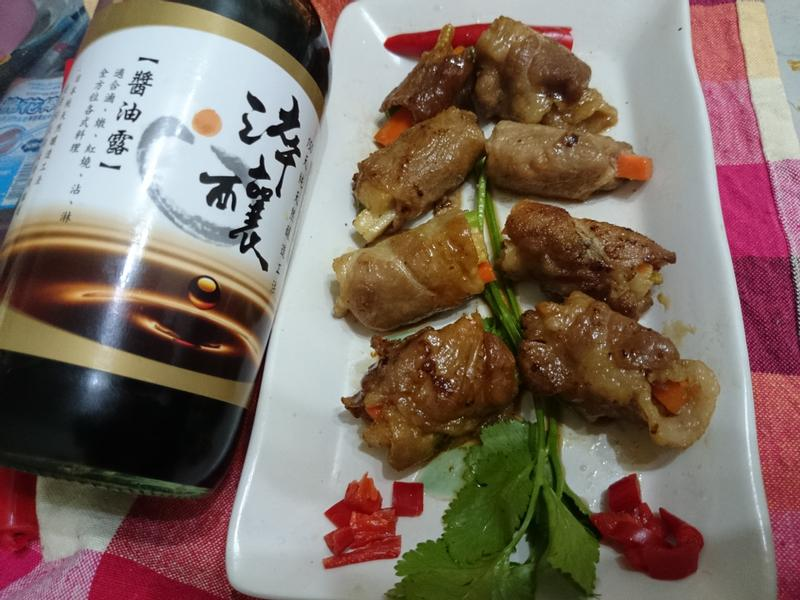 竹報平安黃金捲~【淬釀年菜料理】