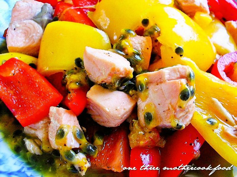 百香鮮蔬鮭魚