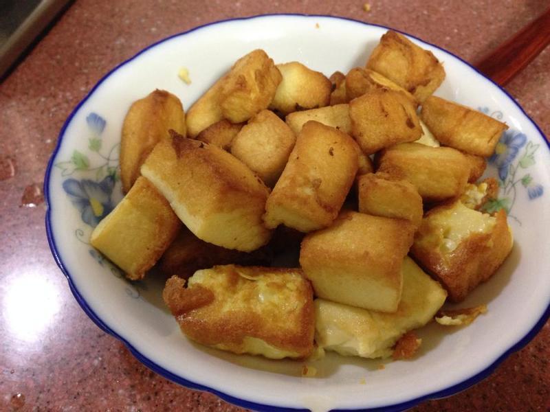 老皮嫩肉❤(雞蛋豆腐)