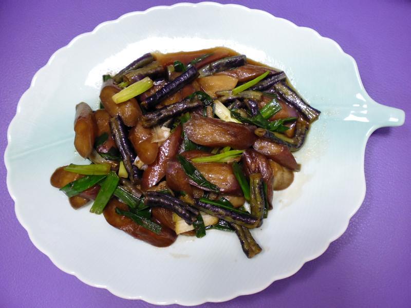 醬炒茄蔥豆   『家樂福廚神大賽』