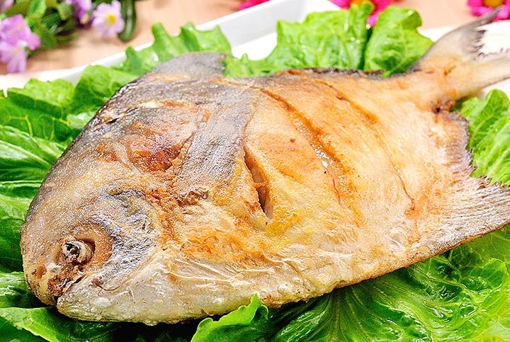 ♥ 超大尾乾煎白鯧魚 ♥