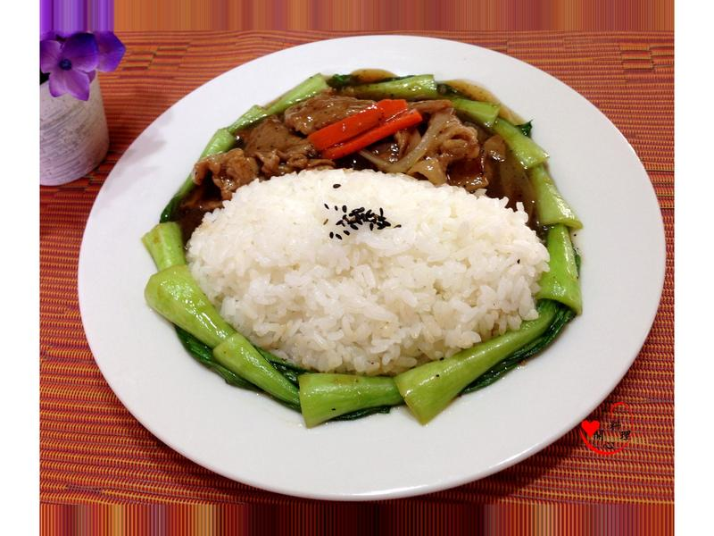 黑椒蔥肉燴飯[台灣良質米]