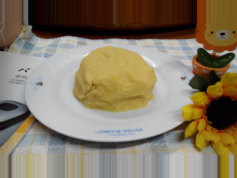超簡單的自製綠豆餡-パンの鍋製麵包機