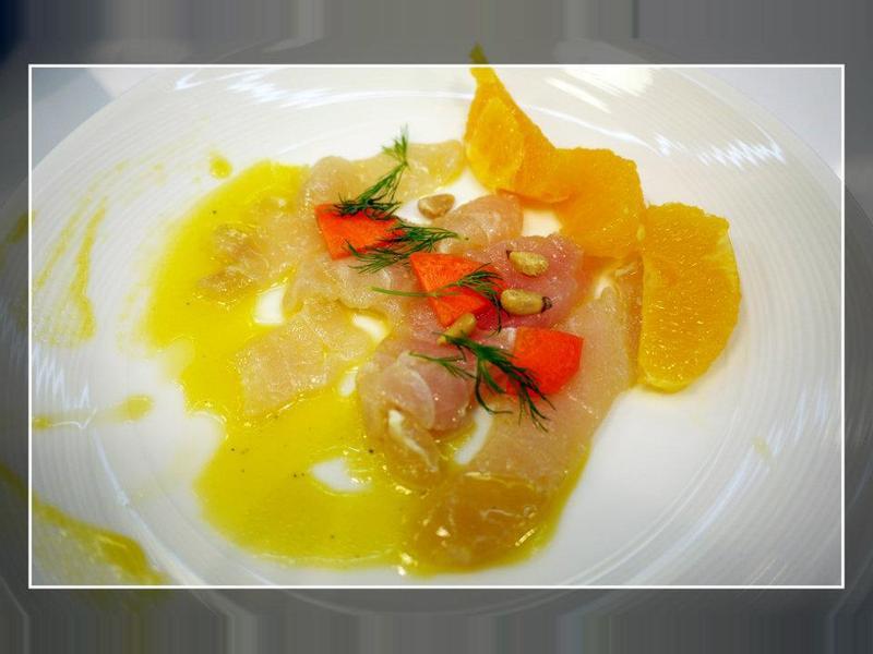 西西里醋漬鮮魚與柳橙沙拉