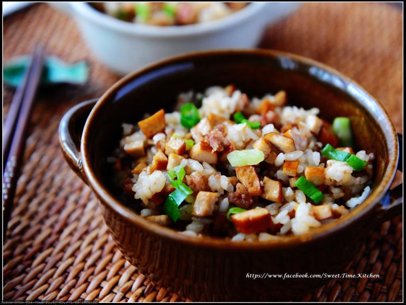 香蔥豆干炒飯