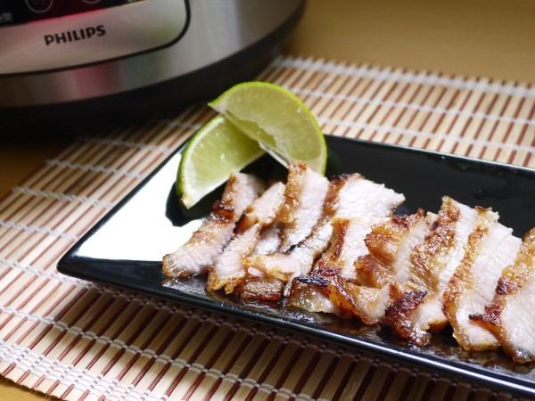 蜜汁味增松阪豬-飛利浦智慧萬用鍋