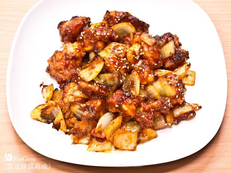 菲姐私房菜-韓式辣醬雞塊