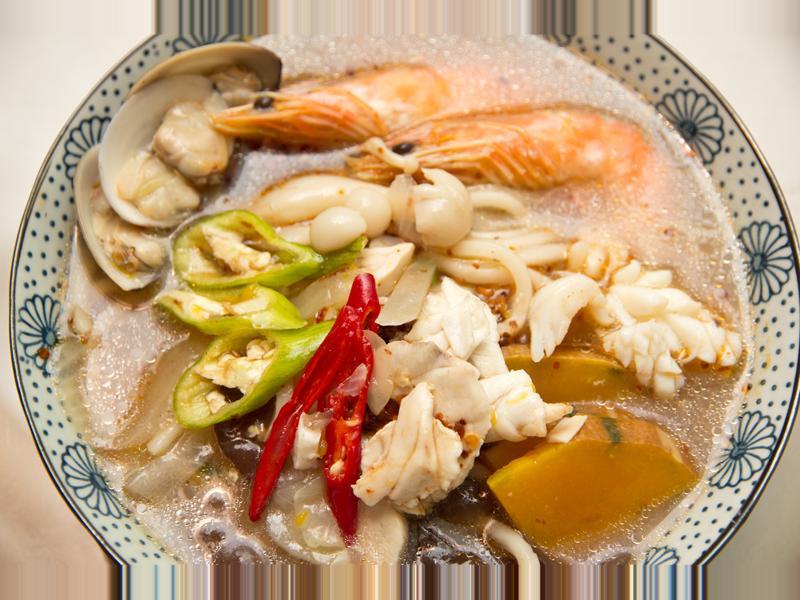 人妻的廚房--炒碼麵(辣味)