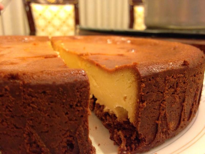 巧克力風味起司蛋糕- 超簡單!一次成功