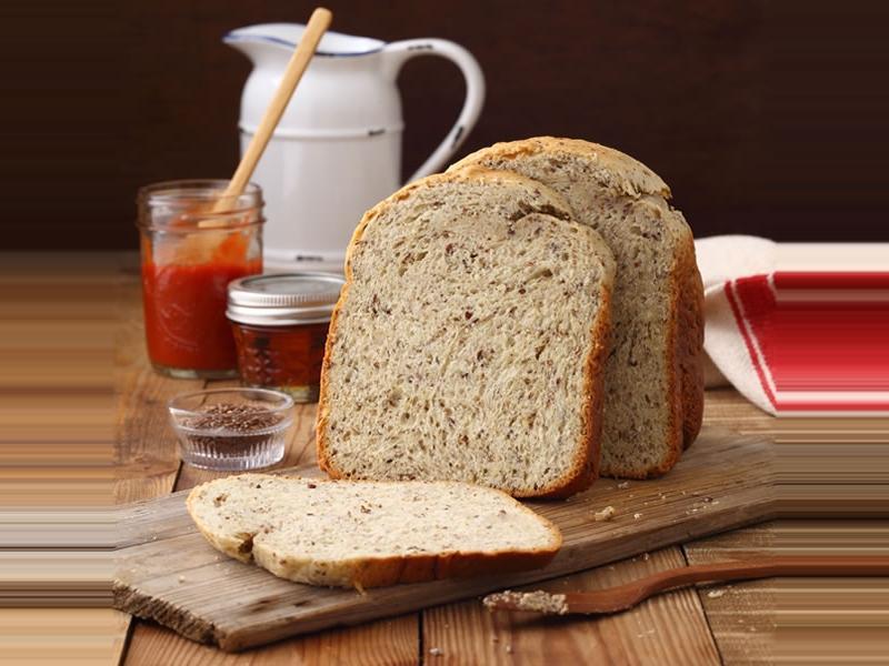 亞麻仁籽吐司 (麵包機作法)